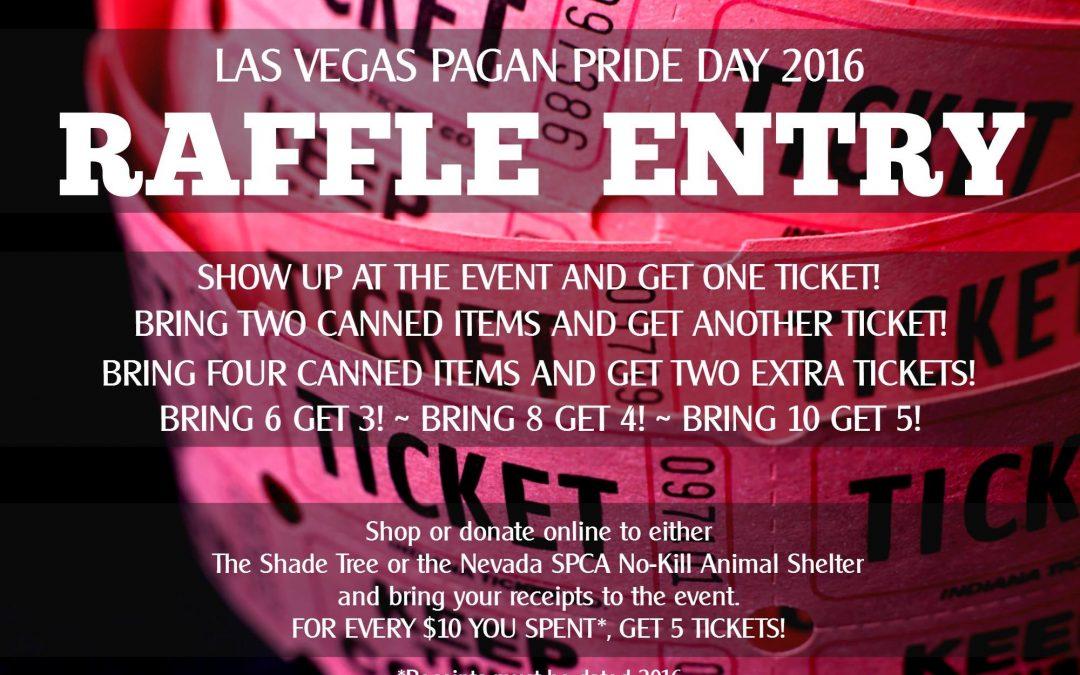 Raffle Prizes (a.k.a. Free Stuff!)