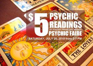 Psychic Fair 2019 Pagan Pride Las Vegas