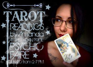Amanda - Tarot Readings 2019 Psychic Faire