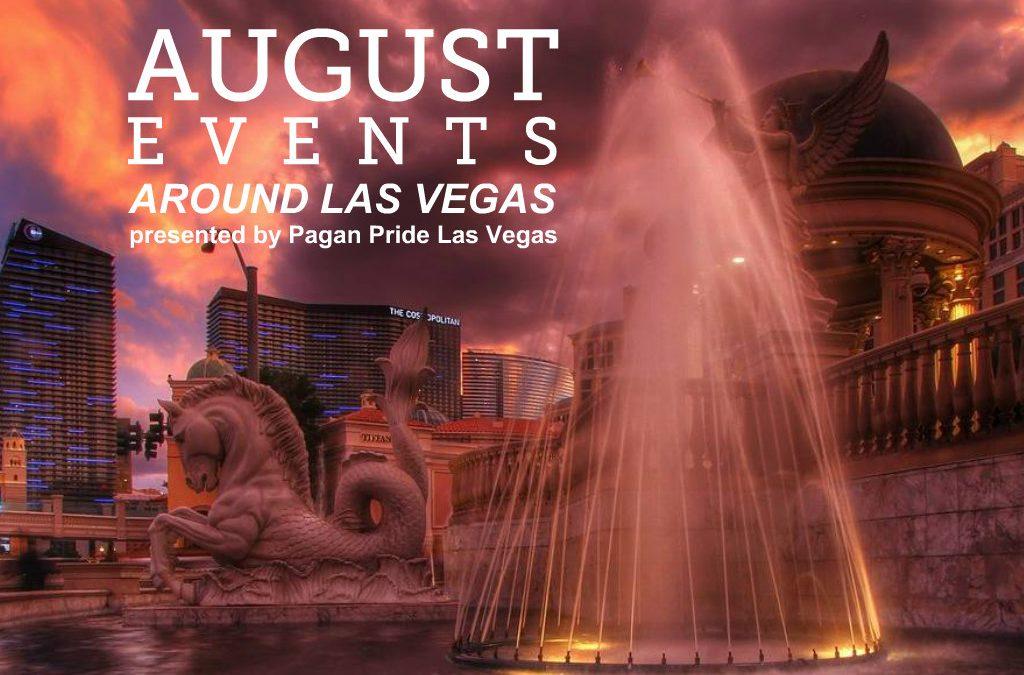 August 2019 Events around Las Vegas