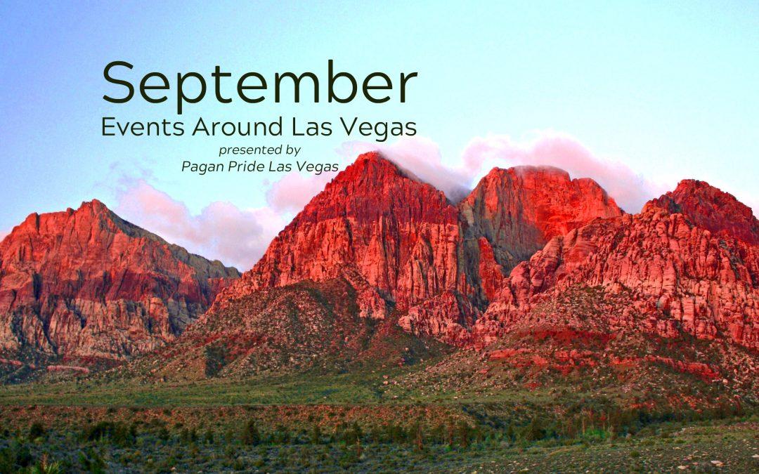 September 2019 Events around Las Vegas